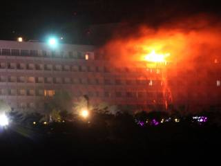 Kabul hotel attack: Gunman killed
