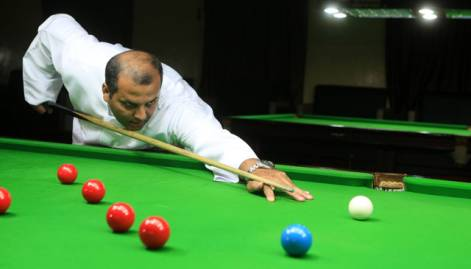 In pictures: First emirati snooker champion