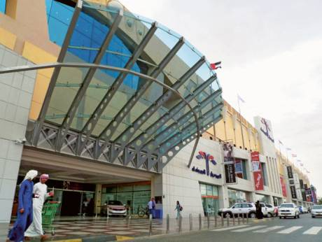 Al Ain Mall currently hosts about nine million visitors a year