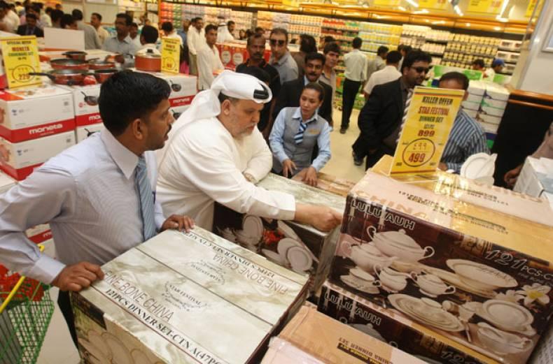 people-are-seen-shopping-at-lulu-hypermarket