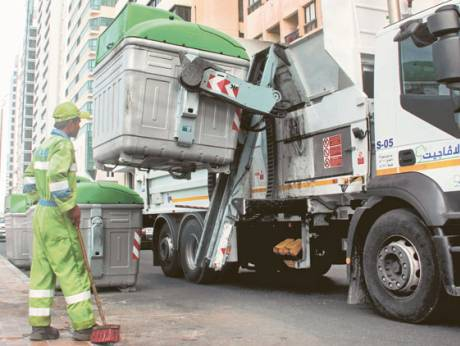 Abu Dhabi generates 33,000 tonnes of waste per day