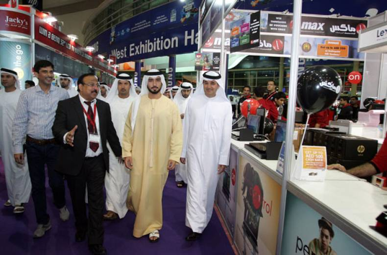 shaikh-majid-bin-mohammed-bin-rashid-al-maktoum-at-the-gitex-shopper