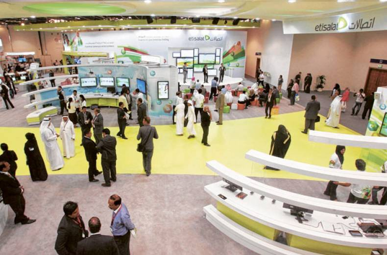 the-etisalat-stand-at-gitex