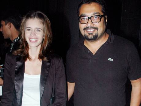 Kalki Koechlin and Anurag Basu