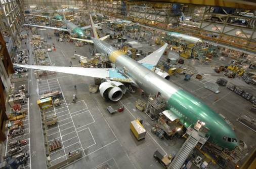 Boeing faces huge backlog of aircraft orders
