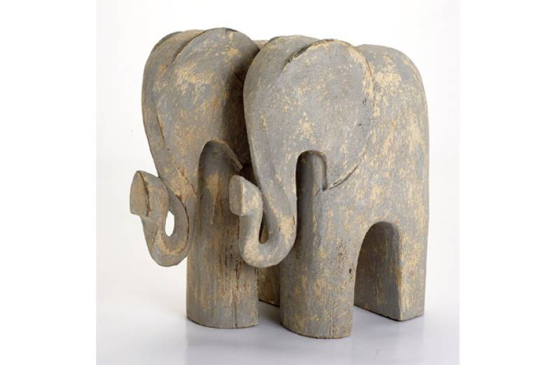 abstract-elephant-ornament