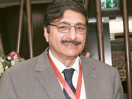 Zaka Ashraf, Chairman of the Pakistan Cricket Board
