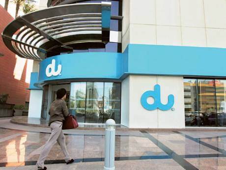 Du's main office in Dubai Media City