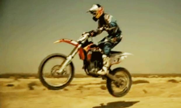 Emirati motocross star set for Rally Dakar