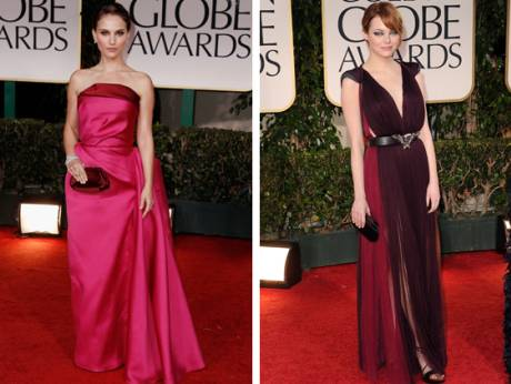 Golden Globes dresses