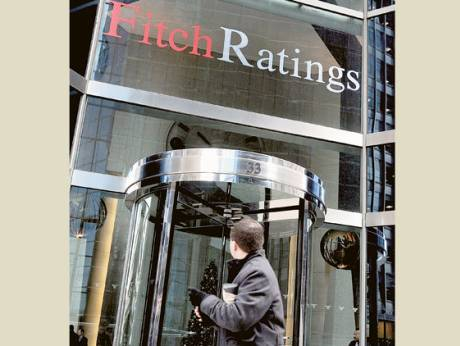 The office of Fitch Ratings in New York