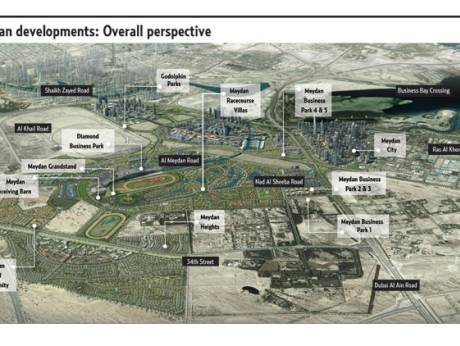 Indian developer obtains huge plot for Meydan City project