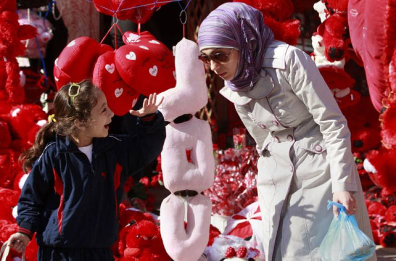 an-iraqi-woman-and-a-girl-shop-for-valentine-s-day-gifts-in-baghdad-iraq