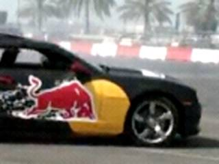 Car drifting with Red Bull champion in Abu Dhabi