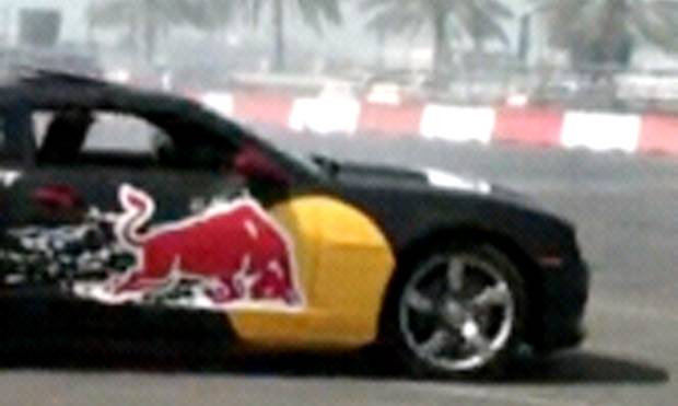 Car drifting in Abu Dhabi