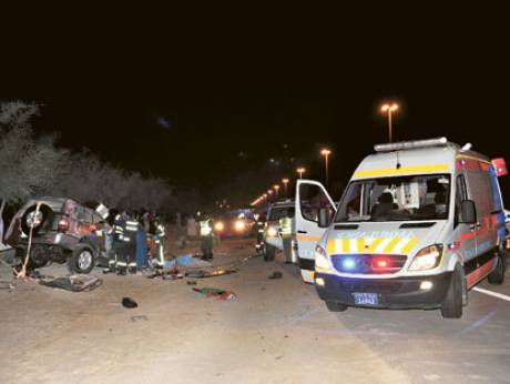 One dead and three injured in Abu Dhabi accident