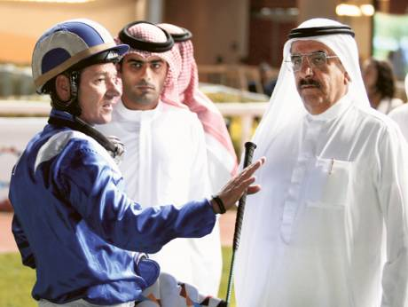 Richard Hills has enjoyed a close and profitable working relationship with Shaikh Hamdan