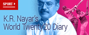 K.R. Nayar's World Twenty20 Diary